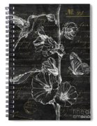 Black And Gold Hummingbirds 2 Spiral Notebook
