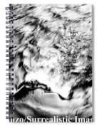 Black And Silver Spiral Notebook