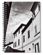 Black And View Italy Spiral Notebook