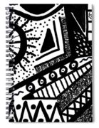Black And White 15 Spiral Notebook