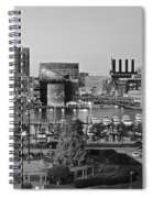 Black And White Baltimore Spiral Notebook