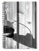 Black And White Barn Fixture 2 Spiral Notebook