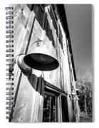 Black And White Barn Fixture Spiral Notebook