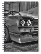 Black And White Capri In Hdr Spiral Notebook