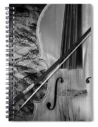 Black And White Classic Spiral Notebook