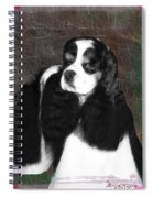 Black And White Cookie Spiral Notebook