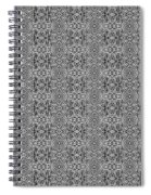 Black And White Design 1 Spiral Notebook