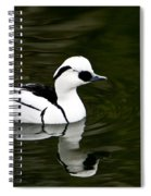 Black And White Duck Spiral Notebook