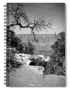 Black And White Grand Canyon 2 Spiral Notebook