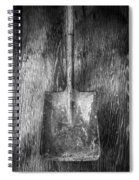 Square Point Shovel 1 Spiral Notebook