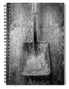 Square Point Shovel 2 Spiral Notebook
