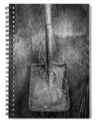 Square Point Shovel 3 Spiral Notebook