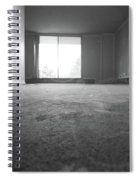 Black And White Window Light Spiral Notebook