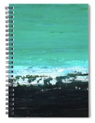 Black Beach Spiral Notebook