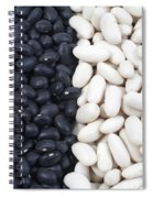 Black Beans And White Beans Spiral Notebook
