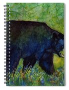 Black Bear Spiral Notebook