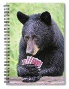 Black Bear Says I Call  Spiral Notebook