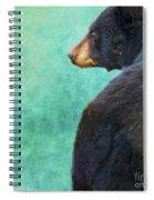 Black Bear's Bum Spiral Notebook
