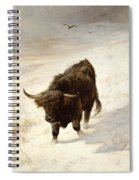 Black Beast Wanderer  Spiral Notebook