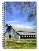 White Windows Historic Hopkinsville Kentucky Barn Art Spiral Notebook