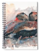 Black Bellied Whistling Duck Spiral Notebook