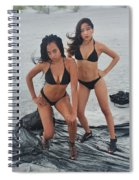 Black Bkinis 3 Spiral Notebook