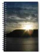 Black Butte Sunrise Spiral Notebook