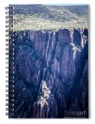Black Canyon In Colorado Spiral Notebook