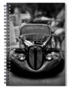 Black Classic Spiral Notebook