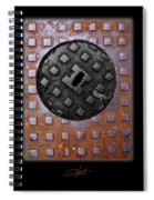 Black Diamond Spiral Notebook