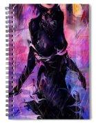 Black Dress Spiral Notebook