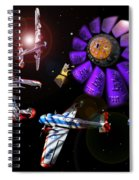 Black Dwarf Spiral Notebook