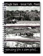 Black Eagle Dam Spiral Notebook