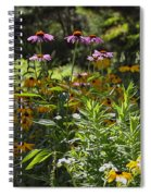 The Field Of Flowers  Spiral Notebook