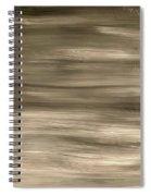 Black Fade Spiral Notebook