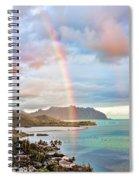 Black Friday Rainbow Spiral Notebook