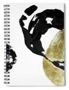 Black Gold 1 Spiral Notebook