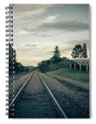 Black Hills National Cemetery  Spiral Notebook
