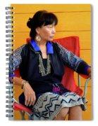 Black Hmong Sapa 1 Spiral Notebook