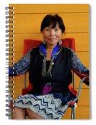 Black Hmong Sapa 3 Spiral Notebook
