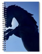 Black Horse Spiral Notebook