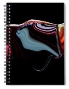 Black Ice Spiral Notebook