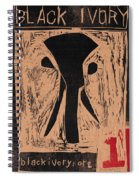 Black Ivory Issue 1 Woodcut Spiral Notebook