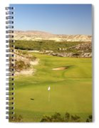 Black Jack's Crossing Golf Course Hole 12 Spiral Notebook