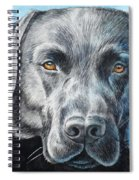Black Lab Spiral Notebook