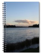 Black Lake Spiral Notebook