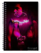 Black Light Passion Spiral Notebook