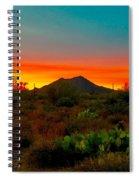 Black Mountain Seduction Spiral Notebook