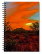 Black Mountain Mystic Spiral Notebook