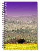 Black Mountains Az Spiral Notebook